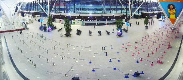 Okolice lotniska - Gdańsk