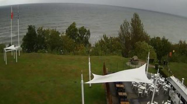 Morze z Hotelu Faleza - Jastrzębia Góra