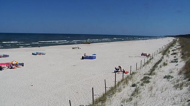 Plaża - Dębki
