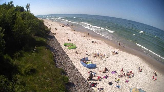 Plaża - Jastrzębia Góra