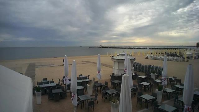 Plaża z restauracji Smak Morza - Sopot