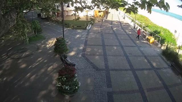 Ławeczka Ireny Kwiatkowskiej - Ustka